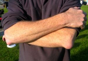bump pe tratamentul articulației cotului